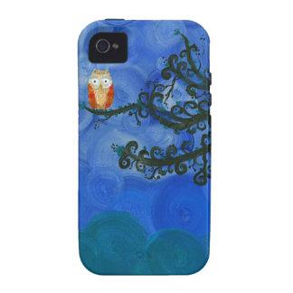 Hoolandia (c) 2013 – Owl Singles Case-Mate iPhone 4 Covers