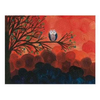 Hoolandia (c) 2013 – Owl Singles Postcard