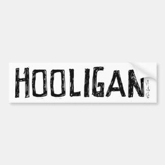 Hooligan Bumper Sticker