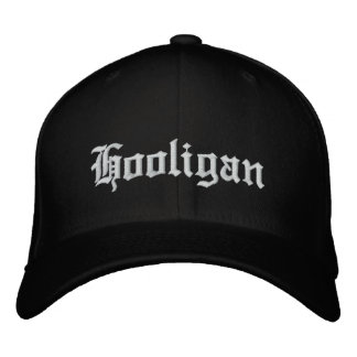 Hooligan cap exclusive embroidered baseball caps