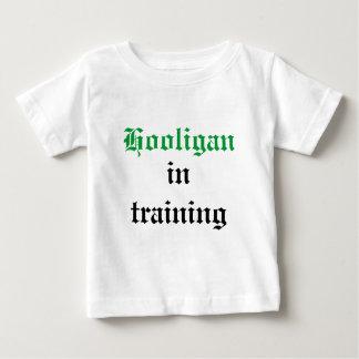 Hooligan, in training shirt