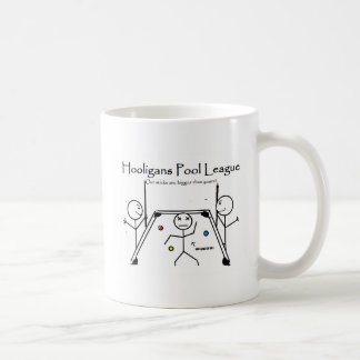 hooligan pool league coffee mug