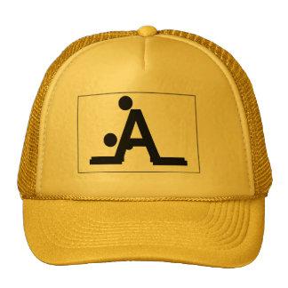 hooligan stick figures trucker hat