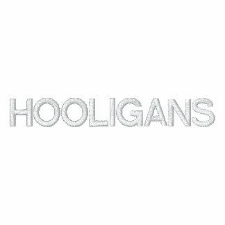 Hooligans Embroidered Hooded Sweatshirts