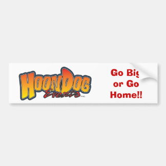 Hoondog Bumper Stickers