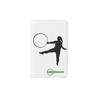 Hoop Dance Notebook with Reusable Cover