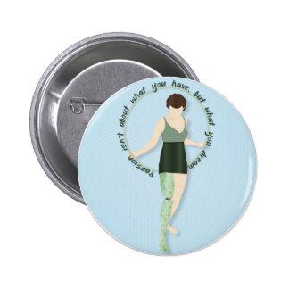 Hoop Dreams 2 Inch Round Button