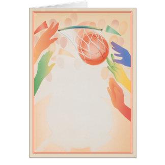Hoop Dreams © Greeting Card