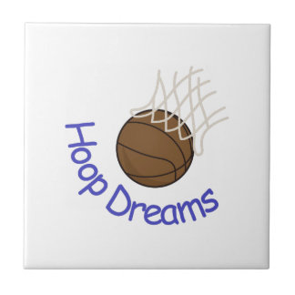Hoop Dreams Ceramic Tile