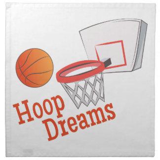 Hoop Dreams Cloth Napkin