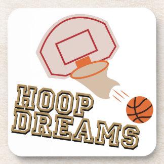 Hoop Dreams Coasters