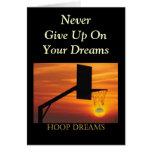 HOOP DREAMS GREETING CARD