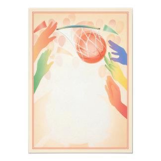 Hoop Dreams © 5x7 Paper Invitation Card