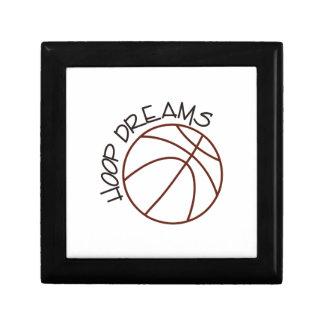 Hoop Dreams Keepsake Box