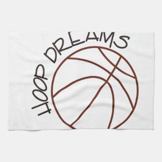 Hoop Dreams Kitchen Towel