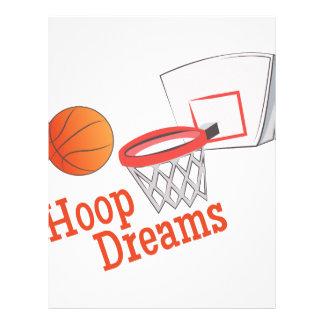 Hoop Dreams Letterhead