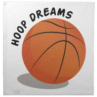 Hoop Dreams Napkin