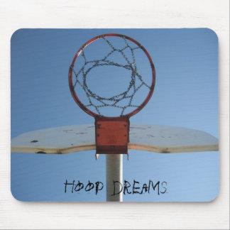 Hoop dreams pad mouse pad
