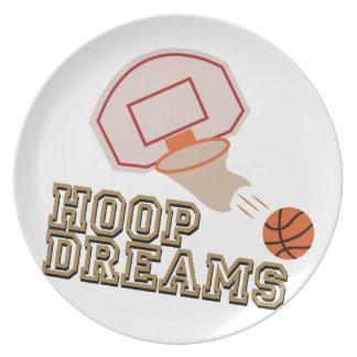 Hoop Dreams Plate