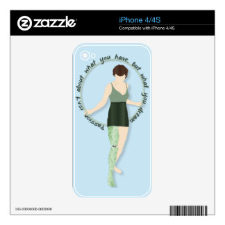 Hoop Dreams Skin For The iPhone 4