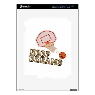Hoop Dreams Skin For iPad 3