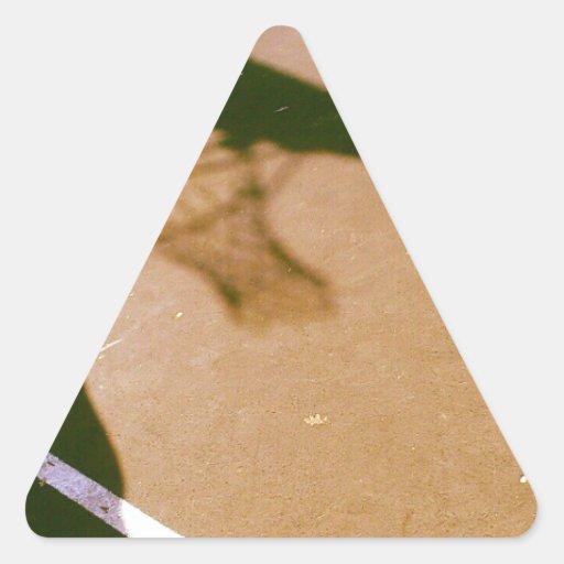 Hoop Dreams Triangle Sticker