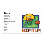 Hoop It Up Double-Sided Standard Business Cards (Pack Of 100)
