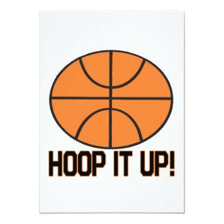 Hoop It Up Card