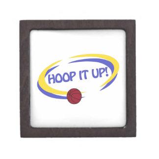 Hoop It Up! Keepsake Box