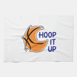 Hoop It Up Kitchen Towel