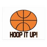 Hoop It Up Postcard