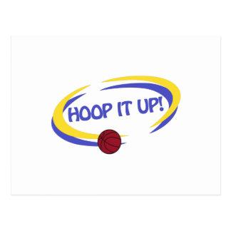 Hoop It Up! Postcard