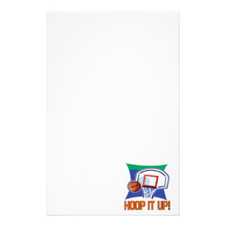 Hoop It Up Customized Stationery
