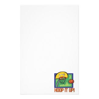 Hoop It Up Stationery Design