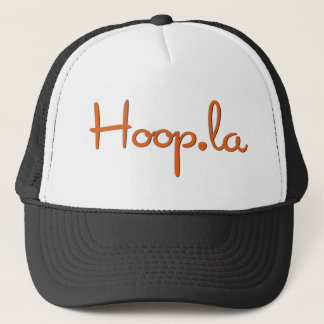 Hoop.la community swag trucker hat
