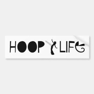 Hoop Life Bumper Sticker Car Bumper Sticker