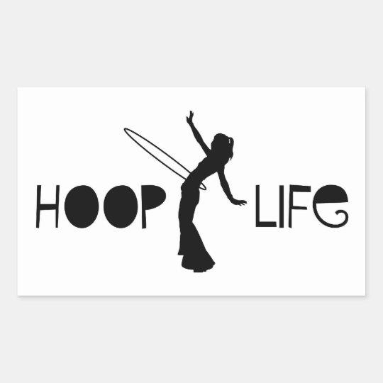 Hoop Life Sticker