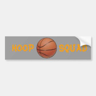 Hoop Squad, Bumper sticker Car Bumper Sticker