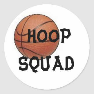 HOOP SQUAD, Sticker