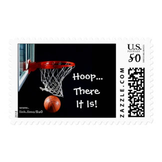 Hoop...There It Is! U.S. Postage Stamps