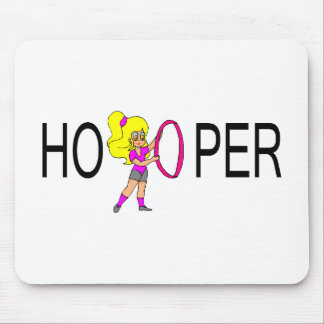 Hooper Blonde Girl Mouse Pad