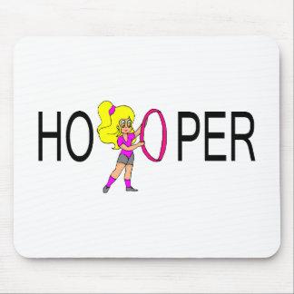 Hooper Blonde Girl Mousepads