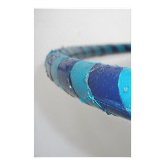 """""""Hooper"""", Hula Hoop, Close-up Personalized Stationery"""