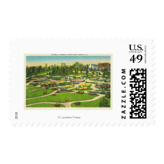 Hoopes Park Perennial Gardens View Stamp