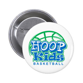 HoopKids Basketball 2 Inch Round Button
