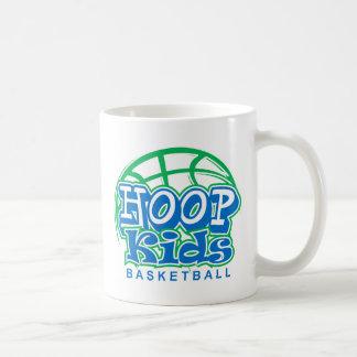 HoopKids Basketball Classic White Coffee Mug