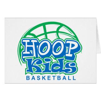 HoopKids Basketball Greeting Card