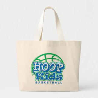 HoopKids Basketball Jumbo Tote Bag