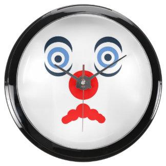 Hoopla Clown Aqua Clock