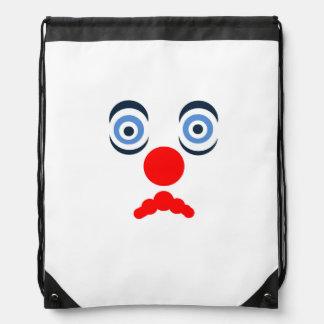 Hoopla Clown Drawstring Bag